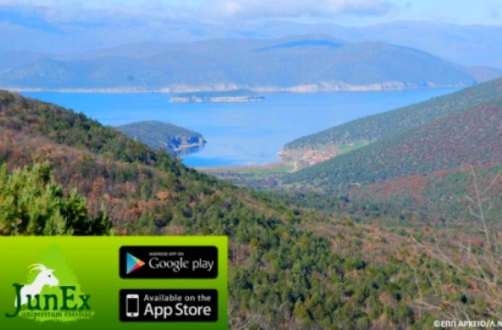 Explore the Prespa forests with your phone as a guide!