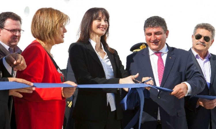 New Cruise Pier at Corfu Port in service
