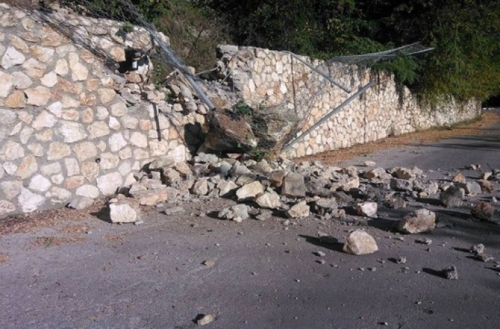 6.5 earthquake near Lefkada island