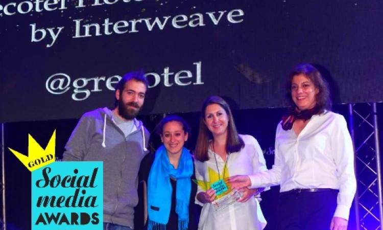 Social Media Awards for Grecotel, Τravelplanet24, Celestyal, YES! Hotels