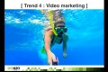 Five new trends in digital marketing (video)