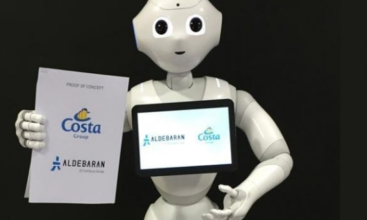 Costa Group trials friendly cruise ship robot