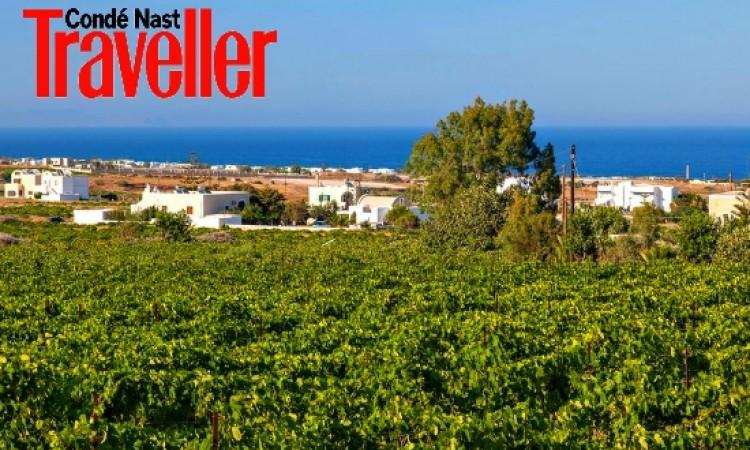 CNT: Santorini in 9 Hottest Wine Destinations of 2016