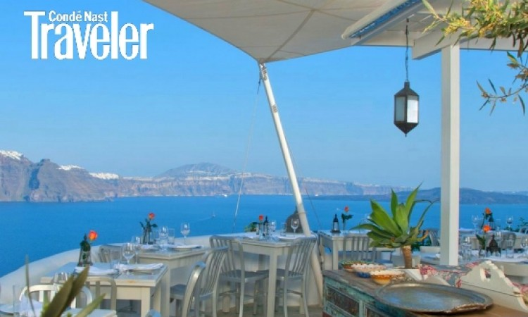 CNT: Santorini's Spectacular Seaside Restaurant