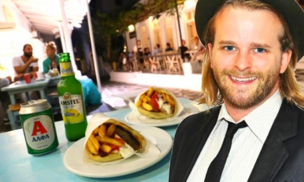 Greek gyros in World's Best Drunk Foods