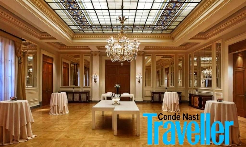 Athens Grande Bretagne Hotel in CNT Gold List for 2016