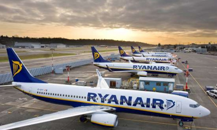 Ryanair: Over 91% of 2016 flights on-time