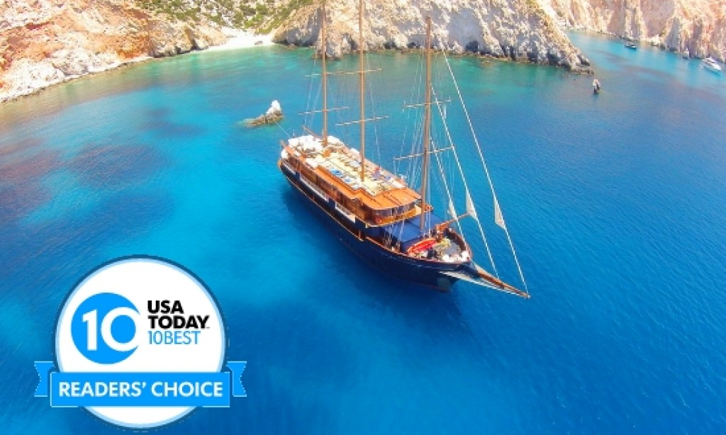 Greek Variety Cruises world's best boutique line