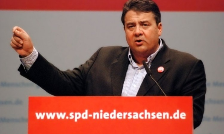 German Foreign Minister Sigmar Gabriel in Athens